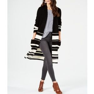 Color blocked Striped Completer Sweater